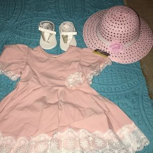 NWT Beautiful 3 pc girls set